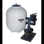 """Фильтровальная установка Behncke Cristall 750 мм, бок. подсоед. 2"""", 20 куб.м/ч"""