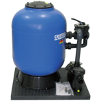 """Фильтровальная установка Behncke Cristall 900 мм, бок. подсоед. 2"""", 30 куб.м/ч"""