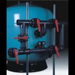 Фильтр песочный для общественных бассейнов Astral Europe 20 м3/ч/м2 д. 1600 мм, 90 мм, 1 м