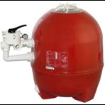 """Фильтр песочный для частных бассейнов Kripsol Balear боковое подсоединение д.760 мм, 2"""" - 63 мм (с вентилем)"""