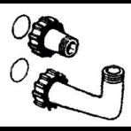 """Комплект соединений 6-ти поз.вентиль 1 1/2"""" - фильтр IBIZA IL, Granada"""