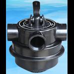 """Многоходовой вентиль 6-ти позиционный верхний 1 1/2"""", для фильтров V350 - V650"""