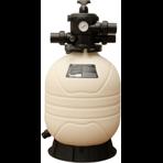Фильтр песочный для частных бассейнов Emaux с верхним вентилем MFV 20, д.500 мм