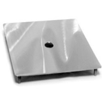 Крышка из нерж. стали для скиммера 15 л