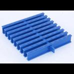 Переливная решетка гибкая ПТК Спорт ширина 245 мм, высота 35 мм (цветная, 1 замок)