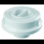 """Адаптер для подсоединения подводного пылесоса из ABS-пластика под плитку Kripsol, крышка ВР 1 1/2"""", подсоед. д. 50/40 мм"""