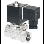 """Электромагнитный клапан из латуни Н.О. 1 1/4"""", Ду 40 мм, 0-16 бар(уплотнение FKM) 220 В"""