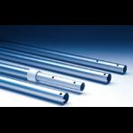 Штанга IML алюминиевая, дл.2.4-4.8м, крепление зажим