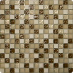Стеклянная мозаичная смесь ORRO mosaic GLASSTONE AMBER