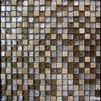 Стеклянная мозаичная смесь ORRO mosaic GLASSTONE COLONIAL BROWN (толщина 4 мм)