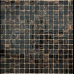 Стеклянная мозаичная смесь ORRO mosaic CLASSIC SABLE BLACK (сетка)