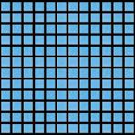 Мозаика стеклянная однотонная JNJ Picasso 10x10 мм A 13