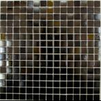 Мозаика стеклянная однотонная Bonaparte Black Light