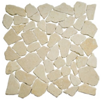 Мозаика мраморная однотонная ORRO mosaic STONE ANTICATO LIGHT