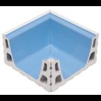 Переливной лоток керамический K6 внутренний угол