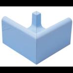 Переливной лоток керамический K3 голубой, наружный угол