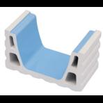 Переливной лоток керамический K6 короткий
