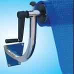 Опоры для ролика Flexinox с фланцевым креплением на стену