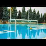 Ворота для водного поло 3х0,90м, с противовесами, свободноплавающие